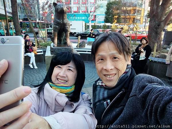 你拍我我拍你--在渋谷ハチ公前