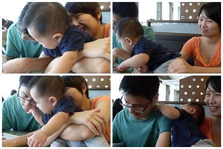 20110911[寶兒九個月]TINA一家@彰化人文風尚咖啡館3.jpg