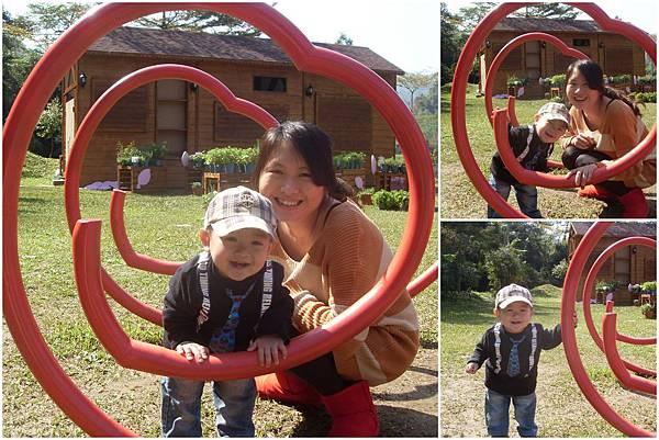 20120212 [寶兒一歲兩個月] 台中新社安妮公主花園1