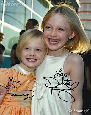 dakota-fanning-elle-fanning-signed-autographed-photo-486741
