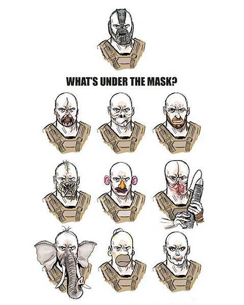 what's under the mask