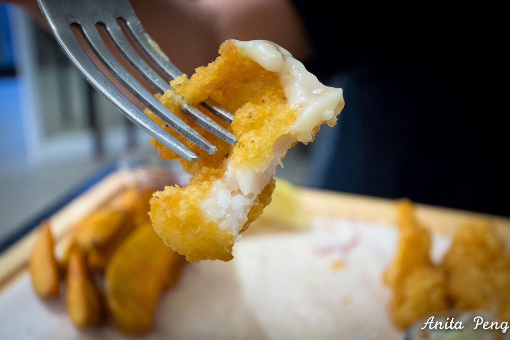 AP炸鱈魚薯