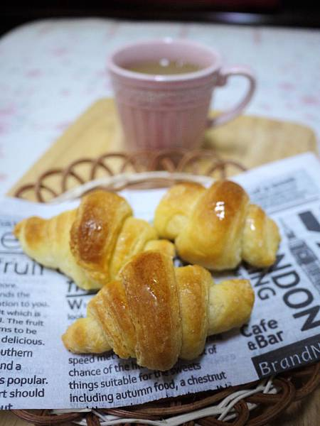 橄欖油可頌麵包