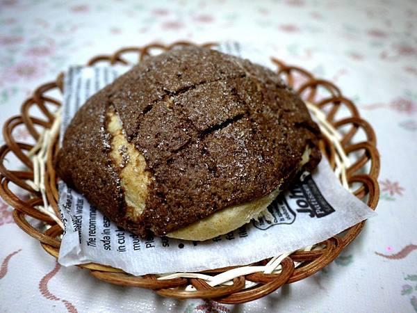 巧克力菠蘿麵包