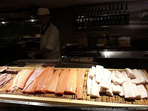 先切生魚片