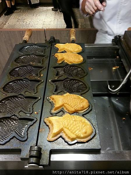 雕魚燒煎台