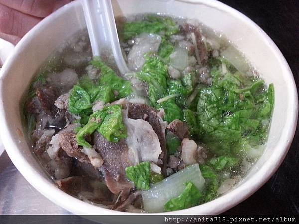 薑絲羊肉片湯