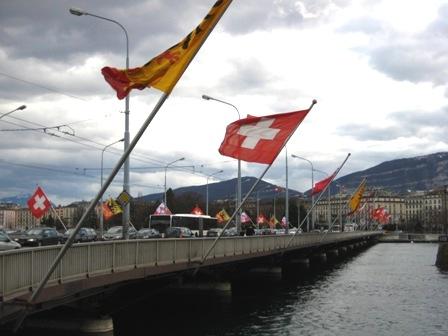 Pont du Mont Blanc白朗峰橋