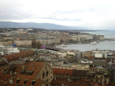 俯瞰Geneva城區
