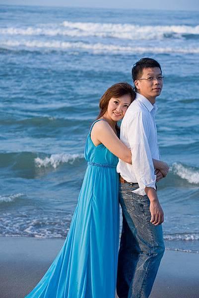 好藍的海浪~