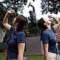 紀念獨立宣言簽署的雕像