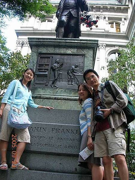 Benjamin Franklin's Statu
