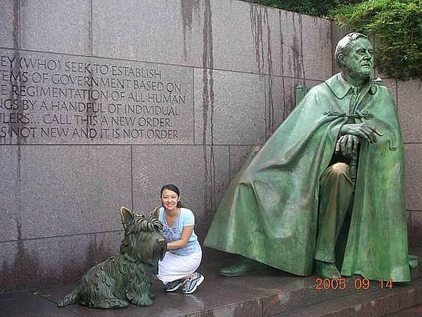 羅斯福紀念雕像