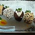 精緻手工草莓巧克力