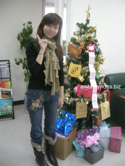 公司lobby聖誕樹