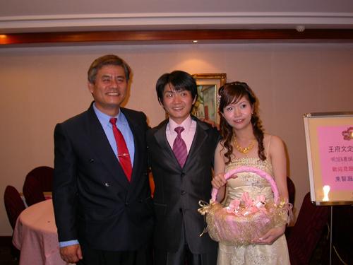 和劉叔叔合照