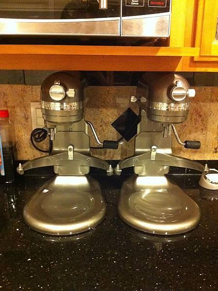 KA 7 quarts stand mixer