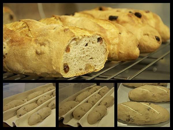 50﹪全麥核桃葡萄乾麵包﹣2