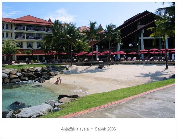 馬來西亞 沙巴 │ 佳藍汶萊飯店(Nexus Golf Resort Karambunai)。