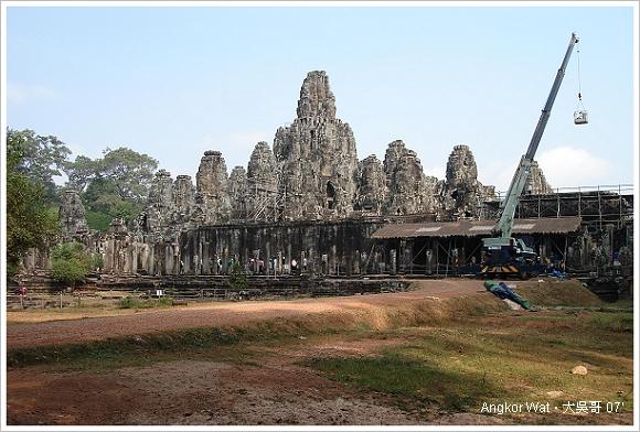 柬埔寨 吳哥窟 │ 大吳哥城(Angkor Thom)之巴戎寺。