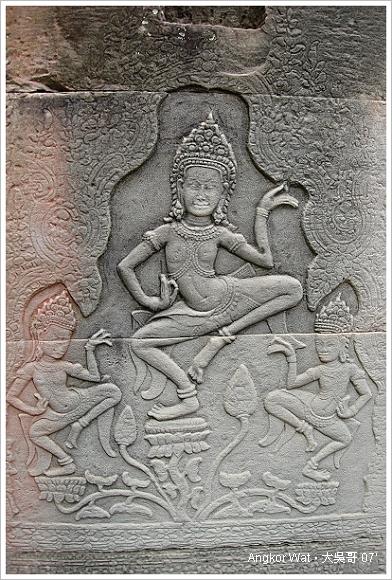 柬埔寨 吳哥窟 │ 精湛的雕刻工藝。