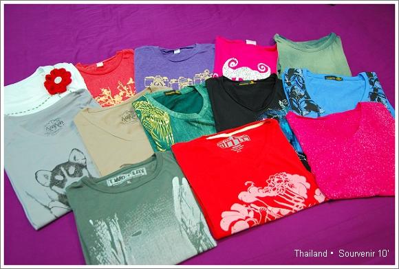 泰國 購物 泰國T恤