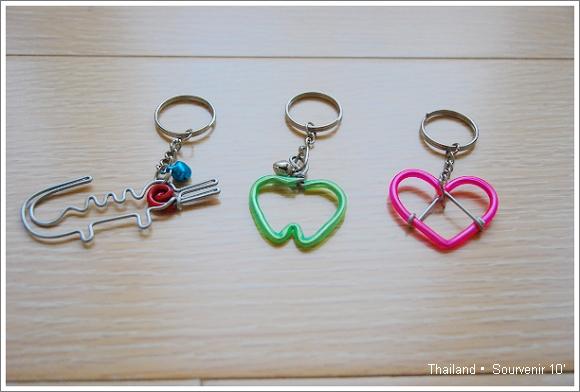 泰國 購物 鑰匙圈