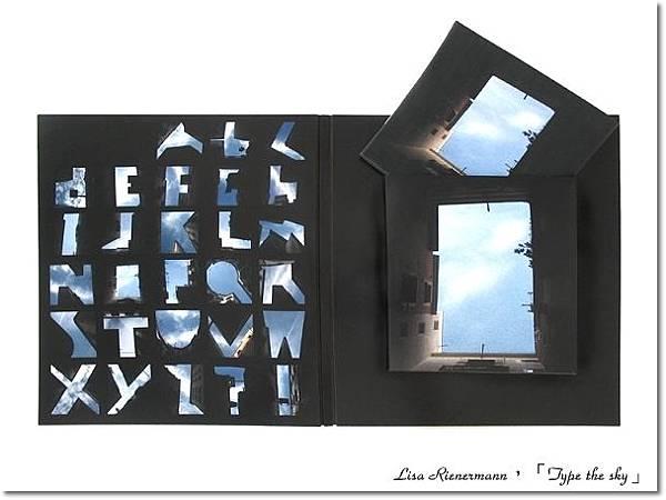 Lisa Rienermann,Type the sky,天空上打字