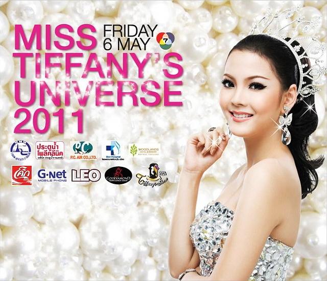 泰國 芭達雅 │ MISS TIFFANY'S UNIVERSE 2011。