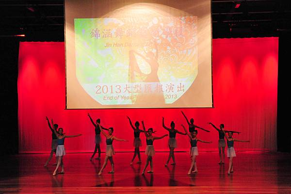 热烈祝贺2013年,锦涵舞蹈艺术学校汇报演出圆满成功!