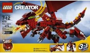 Lego Fiery Legend
