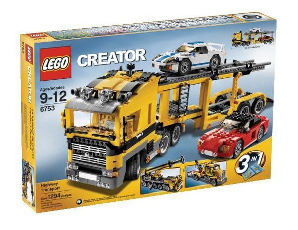 Lego Highway Transporter