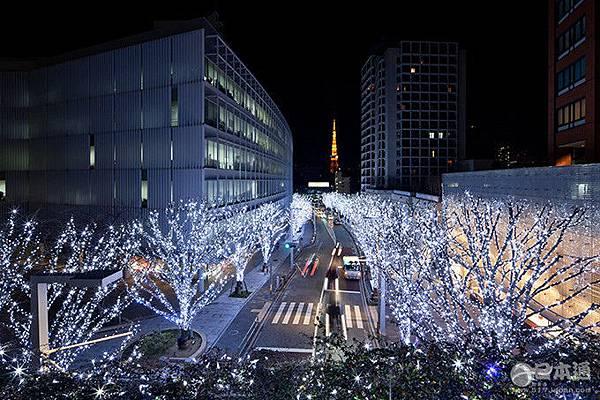 六本木之丘聖誕燈飾