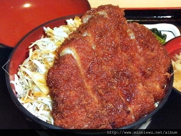 明治亭醬汁豬排蓋飯
