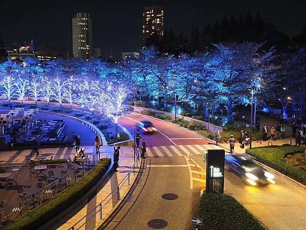 Tokyo MidTown聖誕燈飾