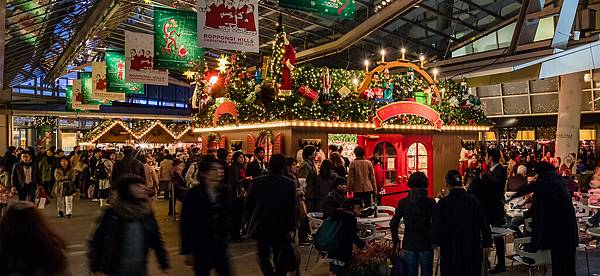 六本木之丘聖誕市集