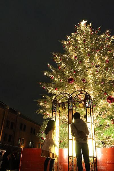 橫濱聖誕市集聖誕樹