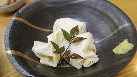 京都湯葉(豆腐皮)料理