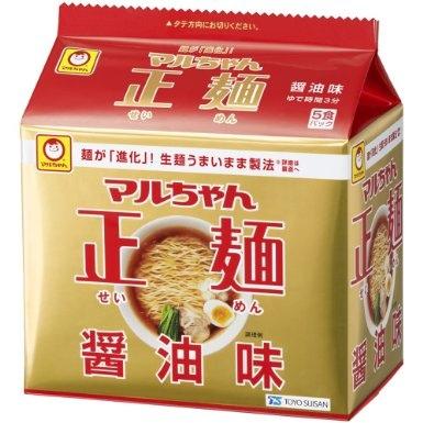 マルちゃん正麺 醤油味,正麵 醬油口味