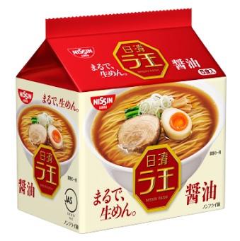 日清ラ王 醤油,日清麵王 醬油口味