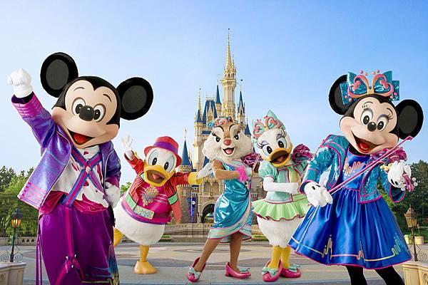 東京親子自由行景點東京迪士尼樂園 Tokyo Disney Land