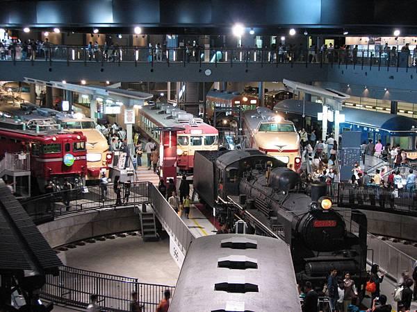 東京親子景點埼玉縣大宮鐵道博物館