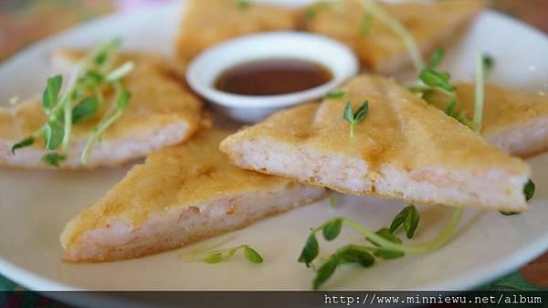 小島泰國菜月亮蝦餅