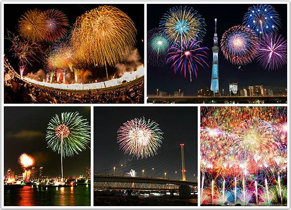 2016日本東京花火節煙火大會