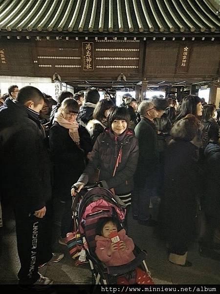 湯島天滿宮新年參拜