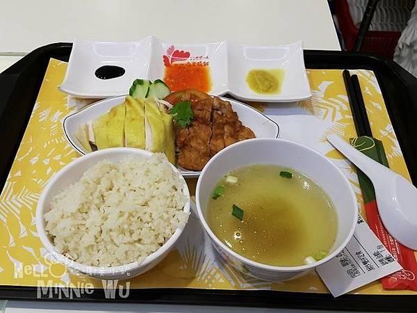 林口三井outlet張記海南雞飯