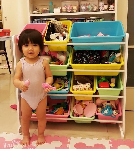 DELSUN 兒童玩具收納櫃