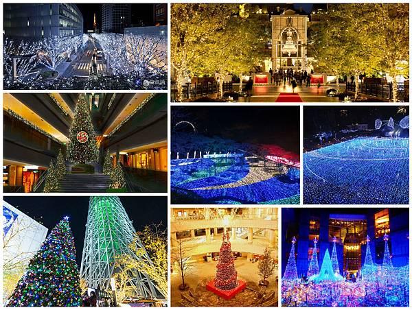 日本東京聖誕節