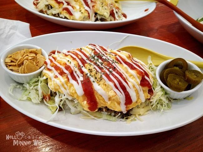 Taco rice cafe Kijimuna