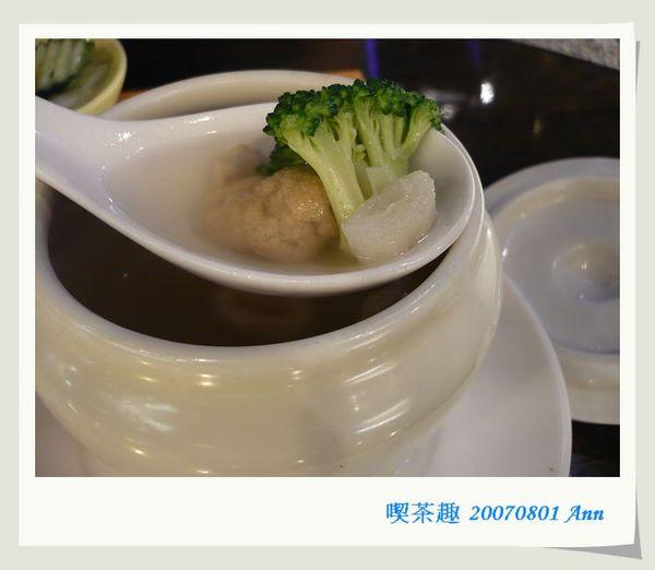 20070801七週年快樂 喫茶趣  竹笙湯